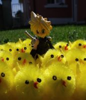 Chocobo Army by FunkySockzLover