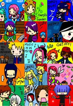 My Own Character Collage by mslckitty