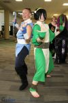 Toph and Sokka by snowtool