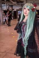 Gothic Hatsune miku by Cos-set