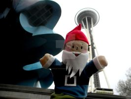Seattle Gnome by thedustyphoenix