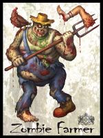 Zombie Farmer by VegasMike
