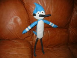 Large Mordecai doll by HayleySkellington