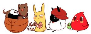 niabunny and friends reference2 by niaro