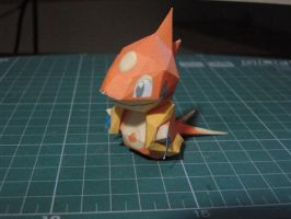 Chibi Floatzel Papercraft by bslirabsl