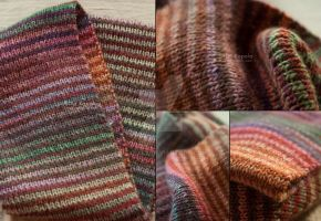 All Days Of Autumn Infinity Scarf by ukapala