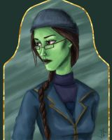 Miss Elphaba by DryEyez