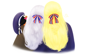[APH] Nordic sisters enjoying each other's company by SnowLicht