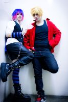 Panty and Stocking Male Version -01 by DamianNada