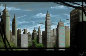 The Future City by Nanty