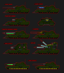Immortal Empire Main Battle Tank Variants by 0verlordofyou