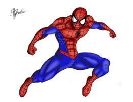Spider-Man Color by Spideyfan3714