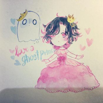 UT: A Killer princess and a Ghost prince by hiimtae