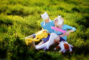 AT - Finn and Fionna by MilliganVick
