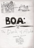 Band of Aledo Comics opener 3 by Texas-Guard-Chic