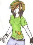 Talk about neon green.. by XxNever-MentxX