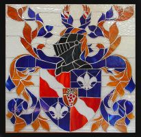 Coat of Arms Window by Ellygator