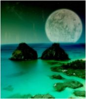 Moon Fall by Flamix