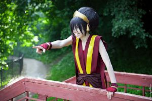 Toph Bei Fong - Hey, Twinkle toes by TophWei