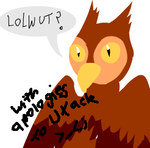 Terrible Horrible Owl Pic by Ayla-the-Raichu