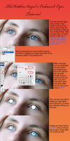 Eye Enhancement in Photoshop by thehiddenangel