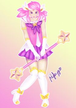 Lux star guardian fanart #DrawEverything June II by Rybyg