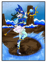 Mermage - Diamond Dust Attack by Tergiversatory-Proxy