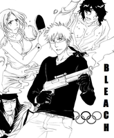 Bleach - Ready for Olympics by Blychee