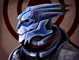 Garrus by SIIINS