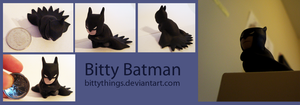 Bitty Batman - GIFT by Bittythings