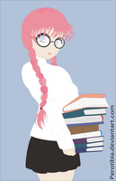 Geek girl by PerotiBia