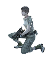 Rebecca Chambers #2 - Professional Render by Allan-Valentine
