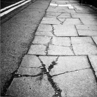 Pavement Cracks by Helenay