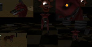 FH- Nightmare Foxy (Picture Update) by BloodyScreeching