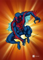 Spiderman 2099 new by mdavidct