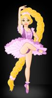Disney Ballerina's: Rapunzel by Willemijn1991