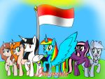 Indonesia's Independence Day! by RainbowSparkle12