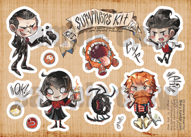 Don't Stickers: Survivors Kit! by DEMachina