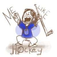 Me Like Hockey by wulfae