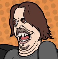 Game Grumps Fan Art Arin Detail by pyromobile