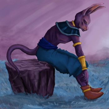 Beerus by ProgressiveD
