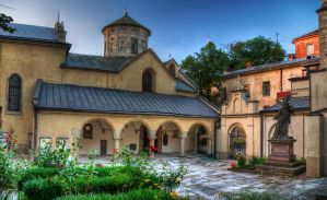 Armenian Cathedral in Lviv by roman-gp