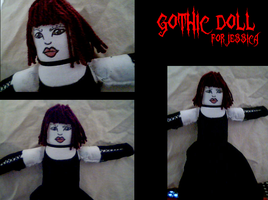 Goth Doll by cheese-stick