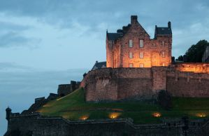 Castle at Dusk by ClintCearley