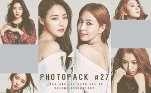 #27 PHOTOPACK-BoA And Lee Yeon Hee by vul3m3