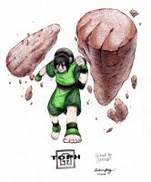 Toph earthbending by Rapunzzel