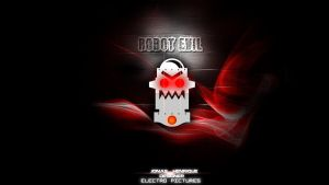 ROBOT EVIL Wallpaper by JonasDesigner