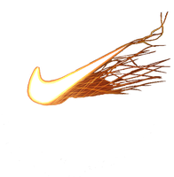 Nike on fire icon by SlamItIcon