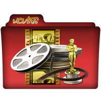 Movies Folder Icon 3 by gterritory