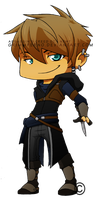 AC: Chibi Newt by Grimmferno